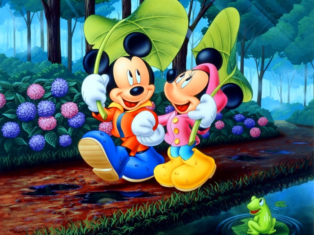 Mickey Mouse Disney Desktop Wallpaper 1024x768