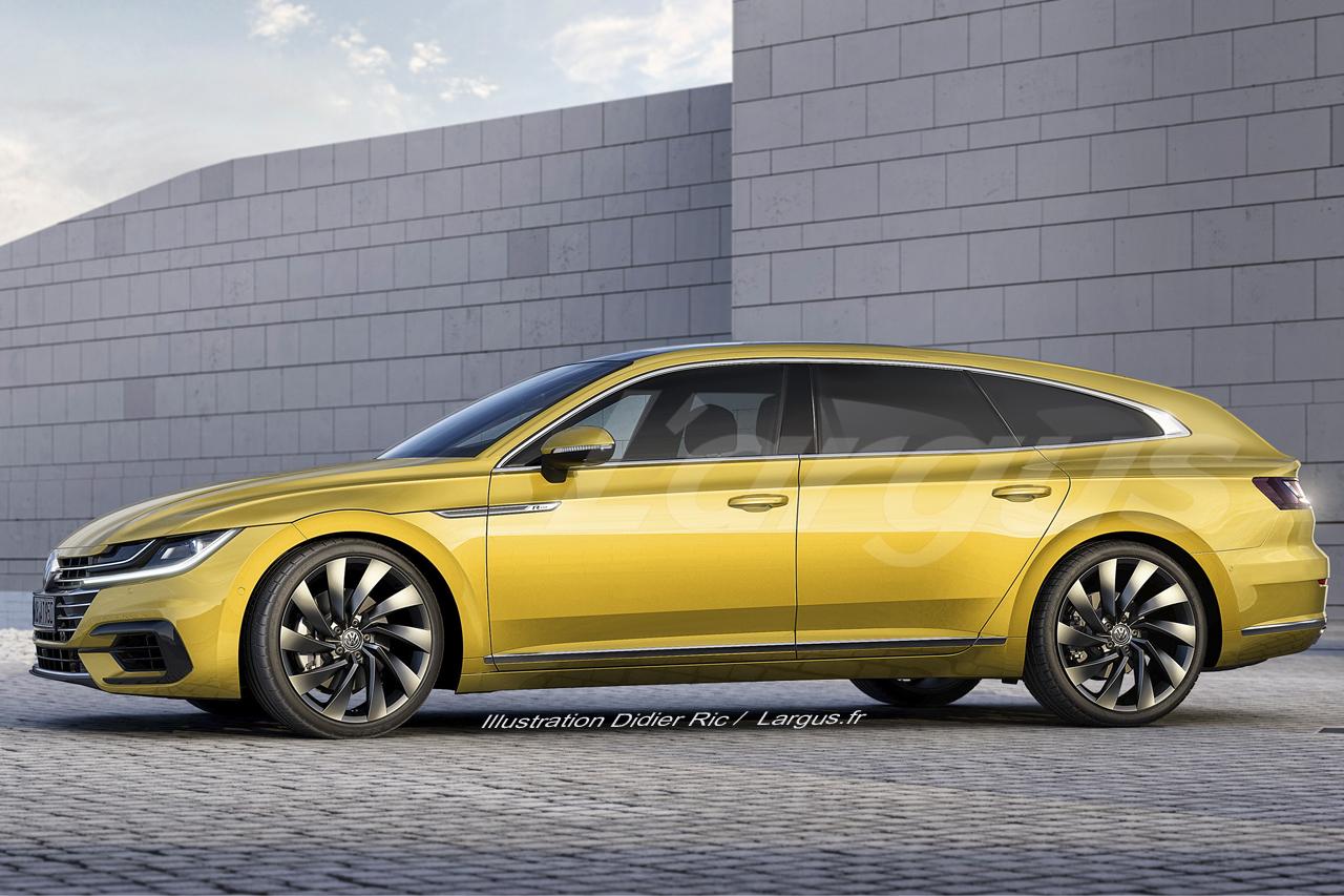 Volkswagen Arteon Shooting Brake 2019 la VW Arteon soffre un 1280x853