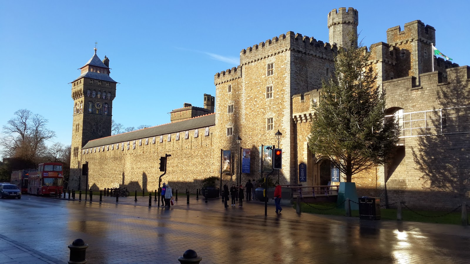 Cardiff Castle United Kingdom Wallpaper Travel HD Wallpapers 1600x900