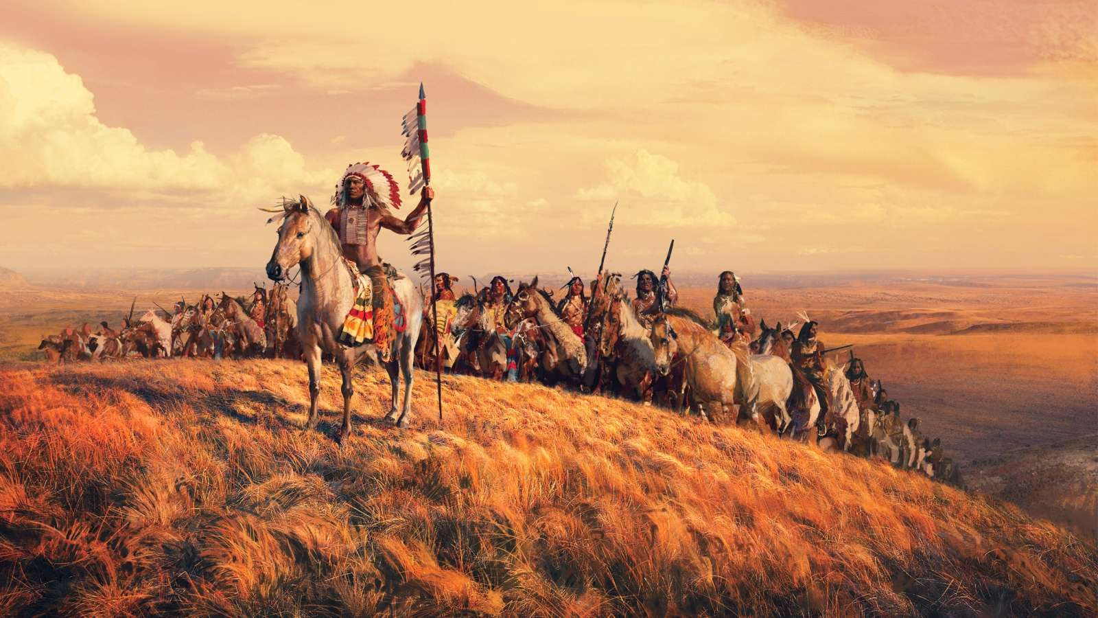 Native American Indian HD Wallpapers For Desktop 1600x900