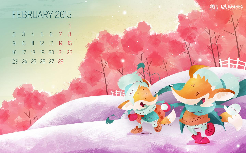 Desktop Wallpaper Calendars February 2015 Smashing Magazine 1440x900