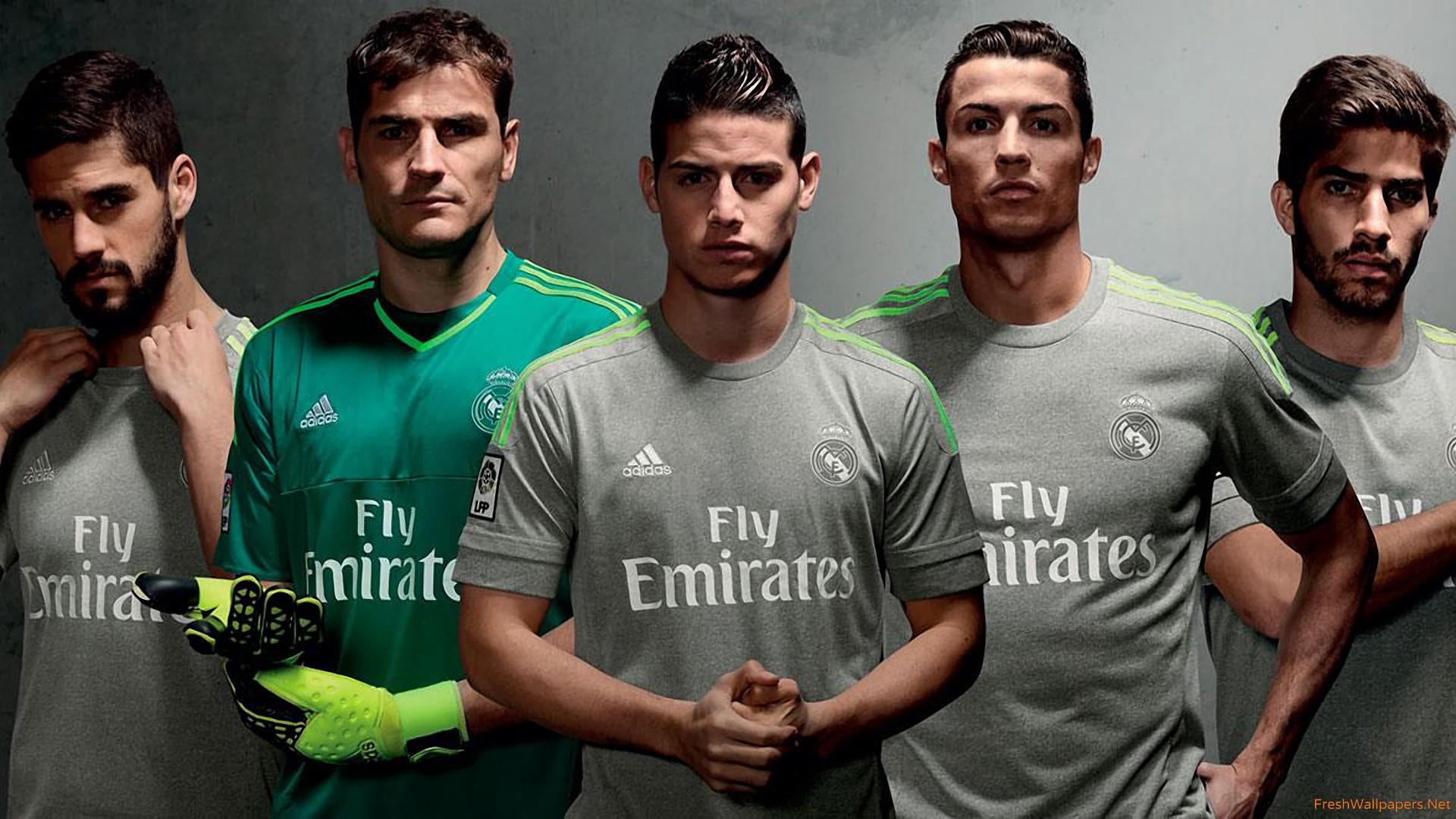 Real Madrid CF 2015 2016 Adidas Away Kit wallpapers Freshwallpapers 1920x1080
