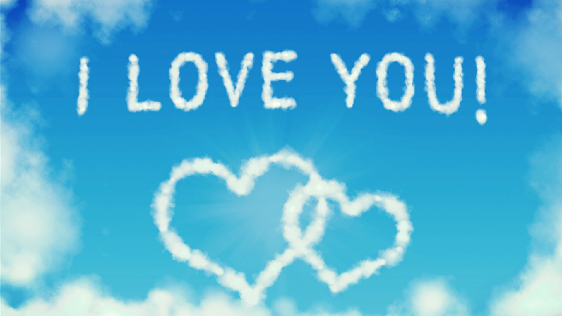 I Love You Heart Wallpaper 1920x1080