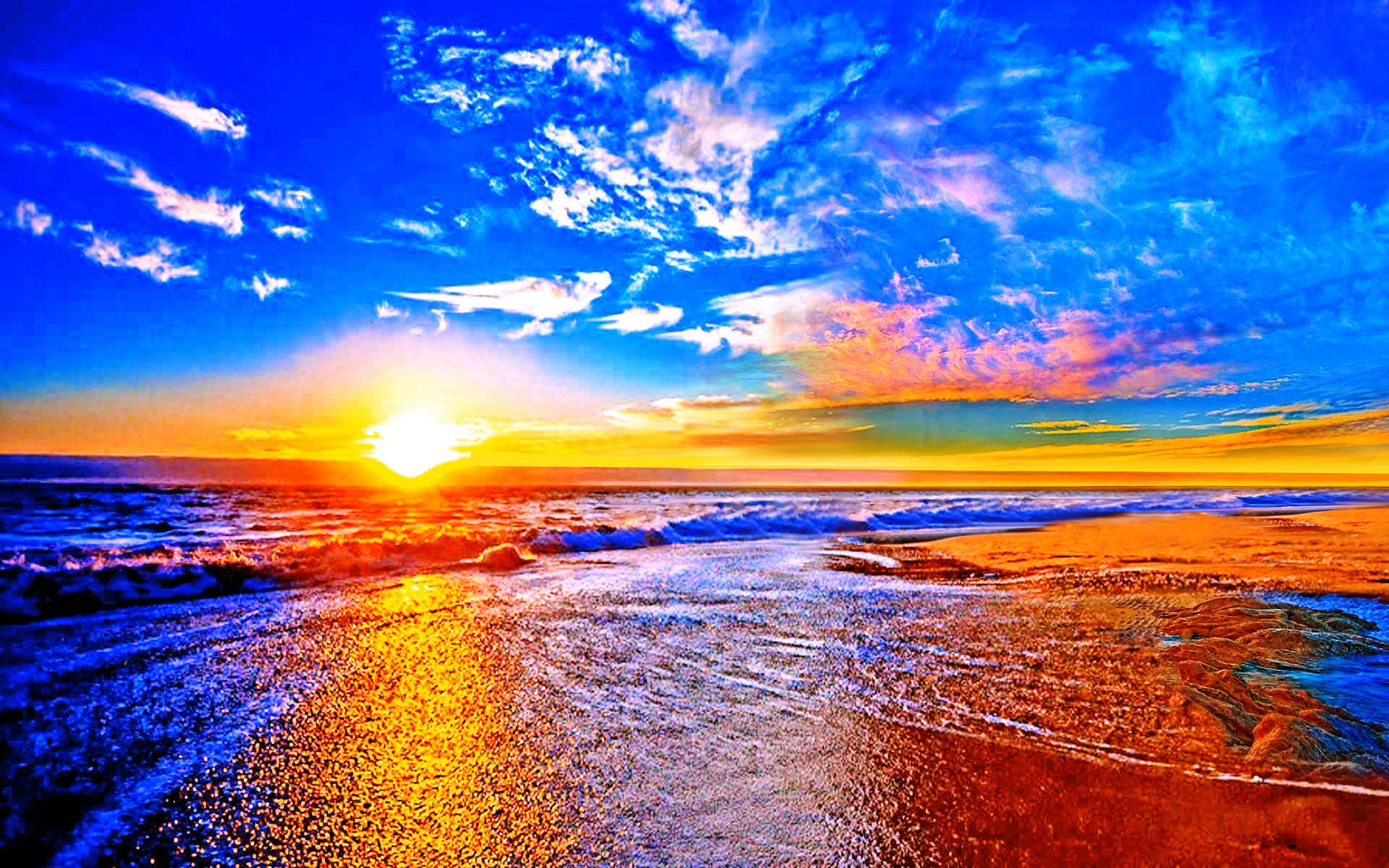 Sunset Wallpaper Desktop 4875x3047