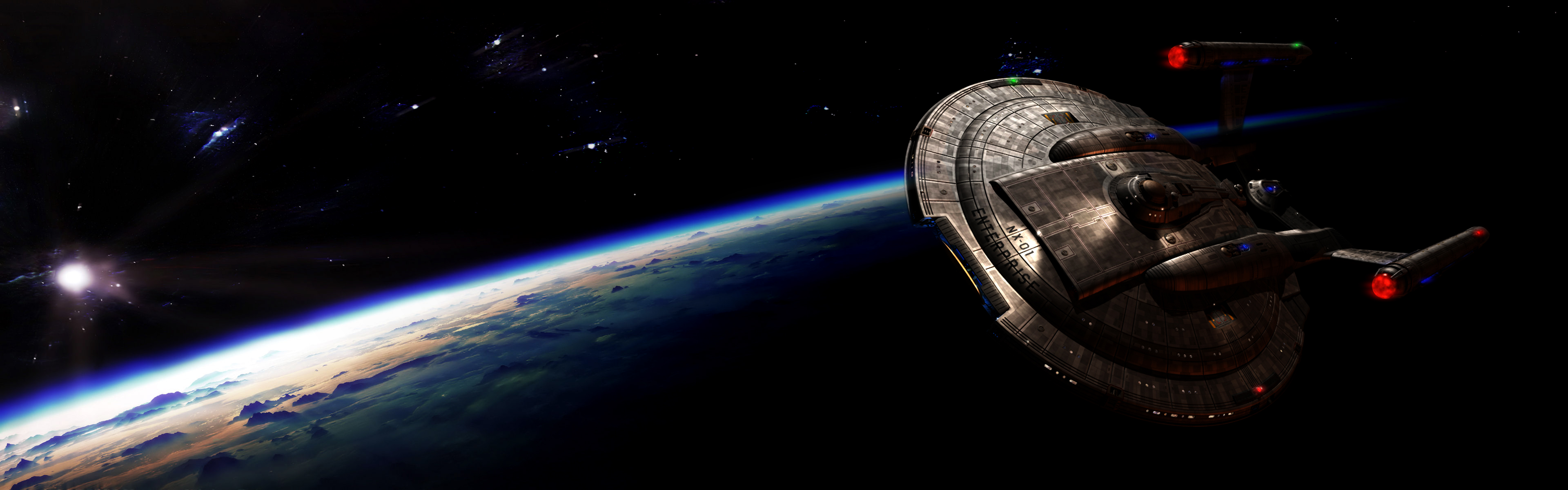 Wallpaper Abyss Explore the Collection Star Trek Sci Fi Star Trek 3840x1200