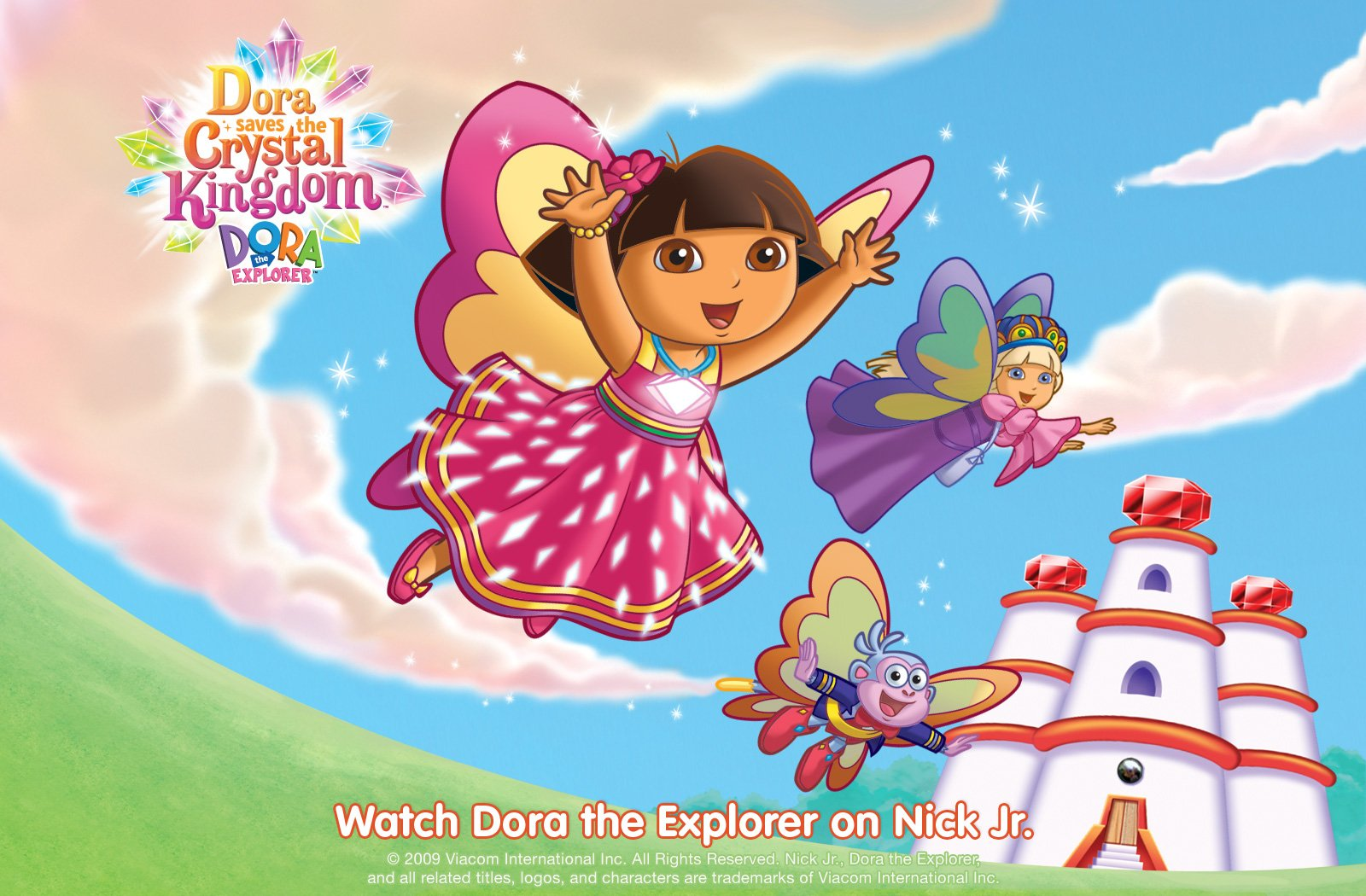 Dora the Explorer f wallpaper 1600x1050 184635 1600x1050