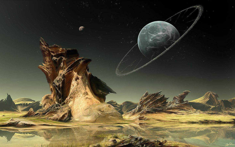 Sci Fi Wallpaper 1440x900