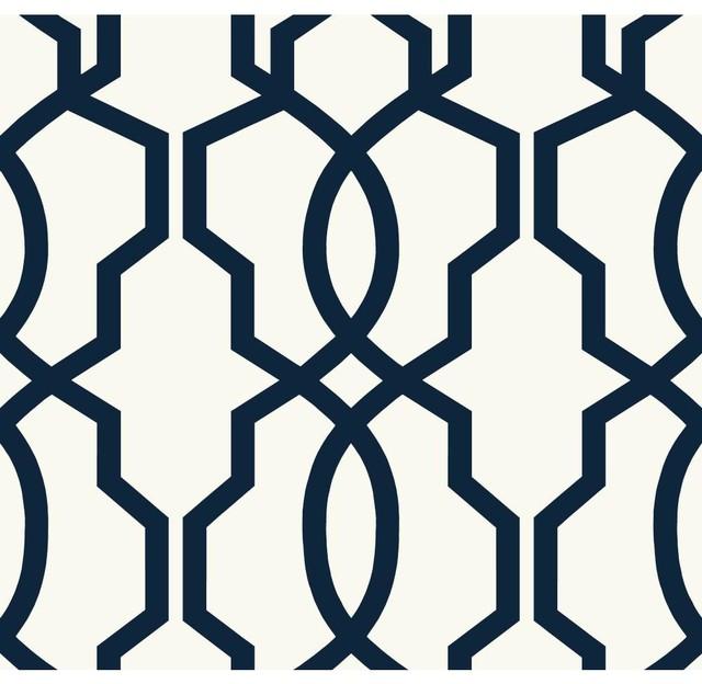 Hourglass Trellis Geometric Trellis Wallpaper mediterranean wallpaper 640x624
