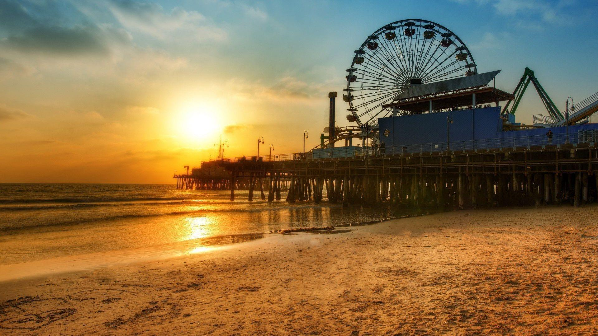 35 Los Angeles Beach Sunset Wallpapers   Download at WallpaperBro 1920x1080