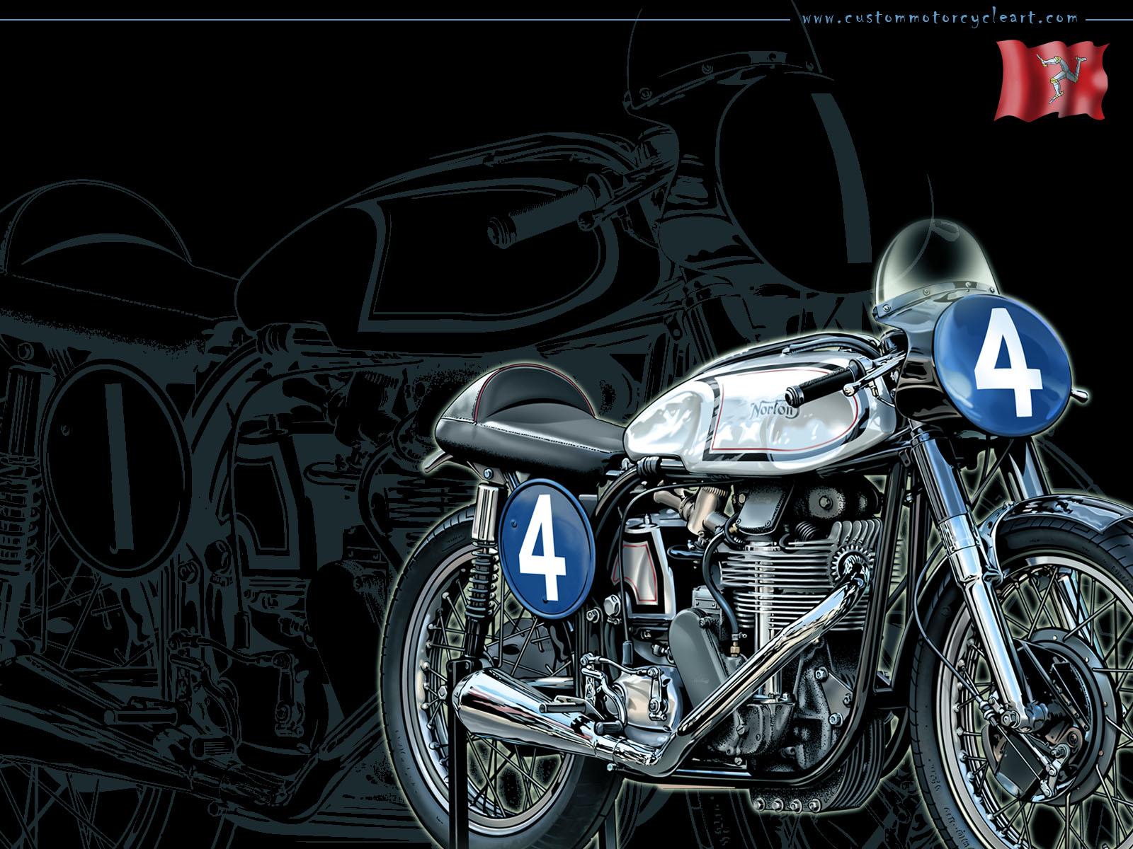 Vintage Motorcycle Wallpapers Free Download Wallpapersafari