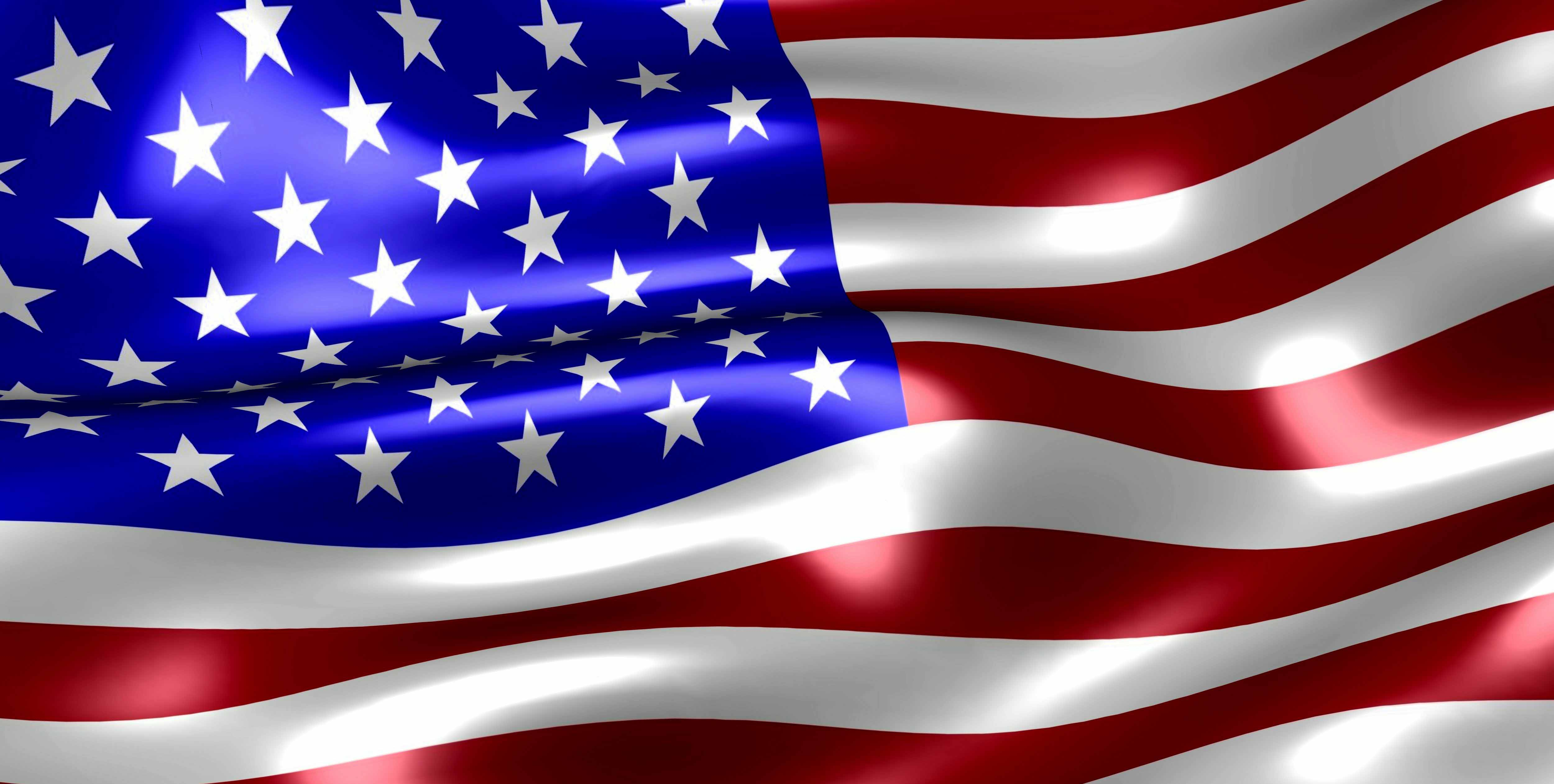 USA Flag Hd Wallpapers Download 5000x2523