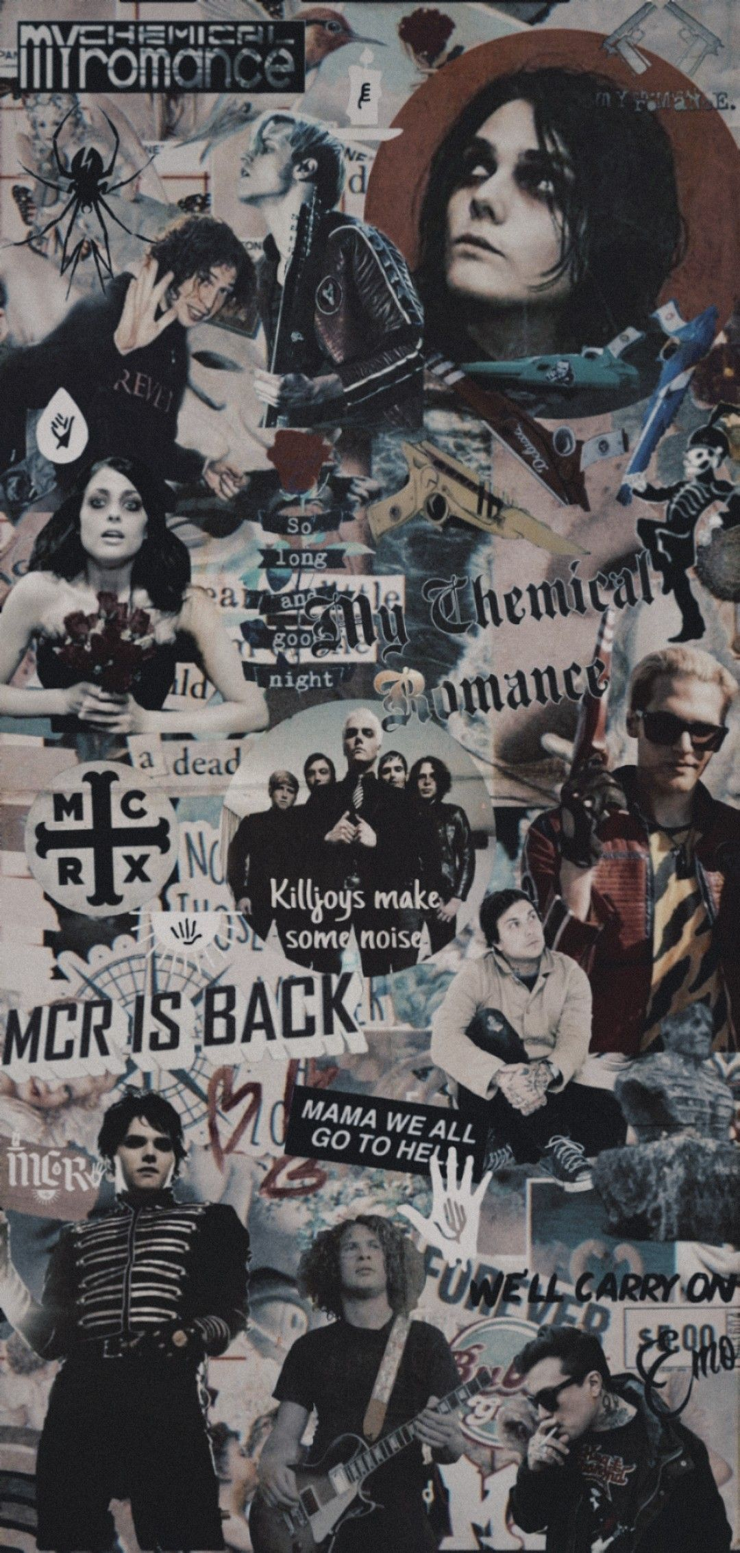 Pin by A L on my chemical romance in 2020 My chemical romance 1080x2267