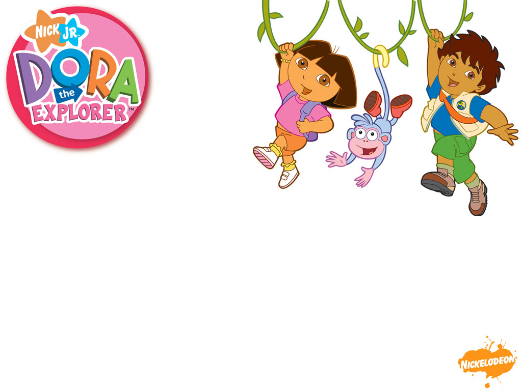 Dora the Explorer and Diego Wallpaper   Dora the Explorer 1024x768