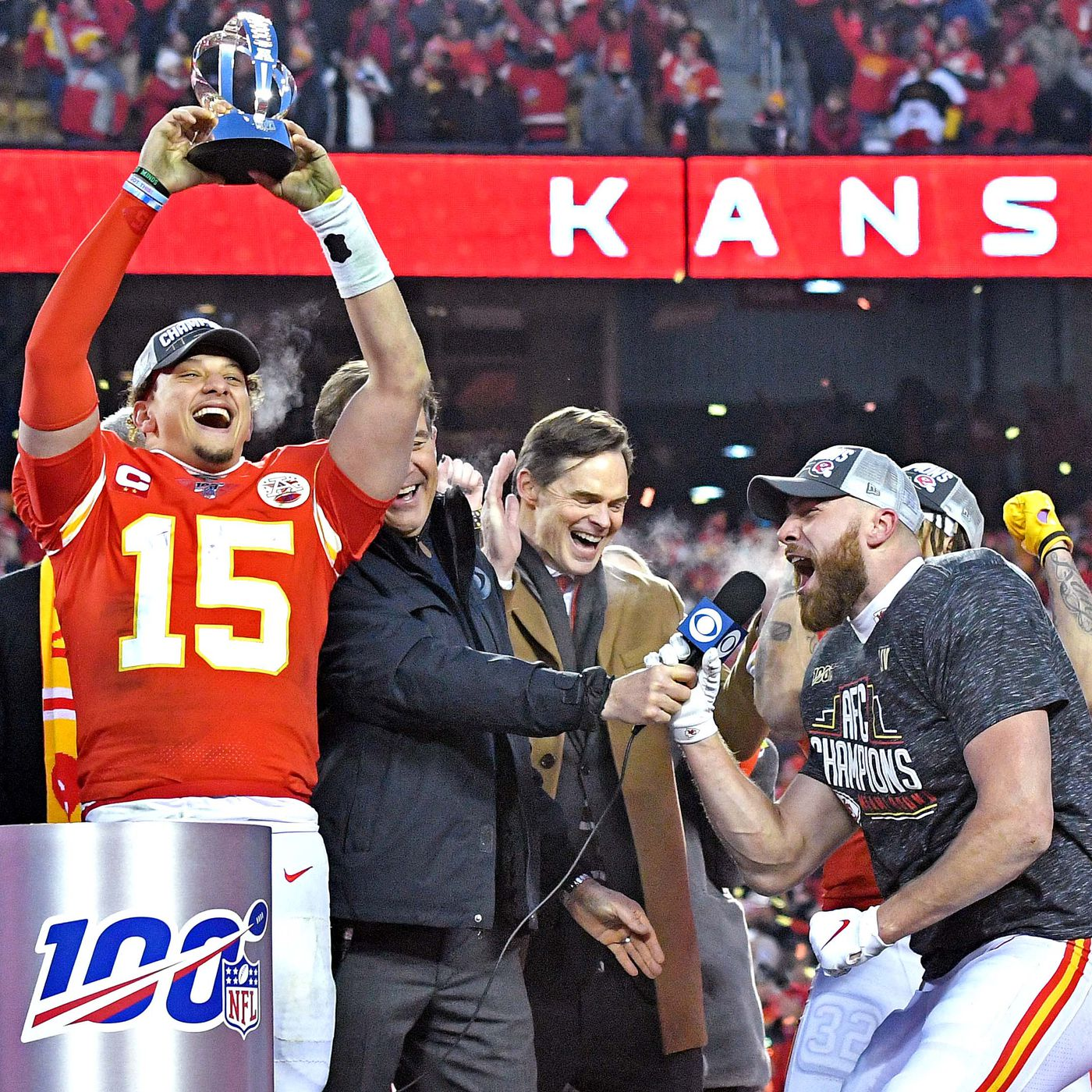 Kansas City Chiefs San Francisco 49ers to play in Super Bowl 54 1400x1400