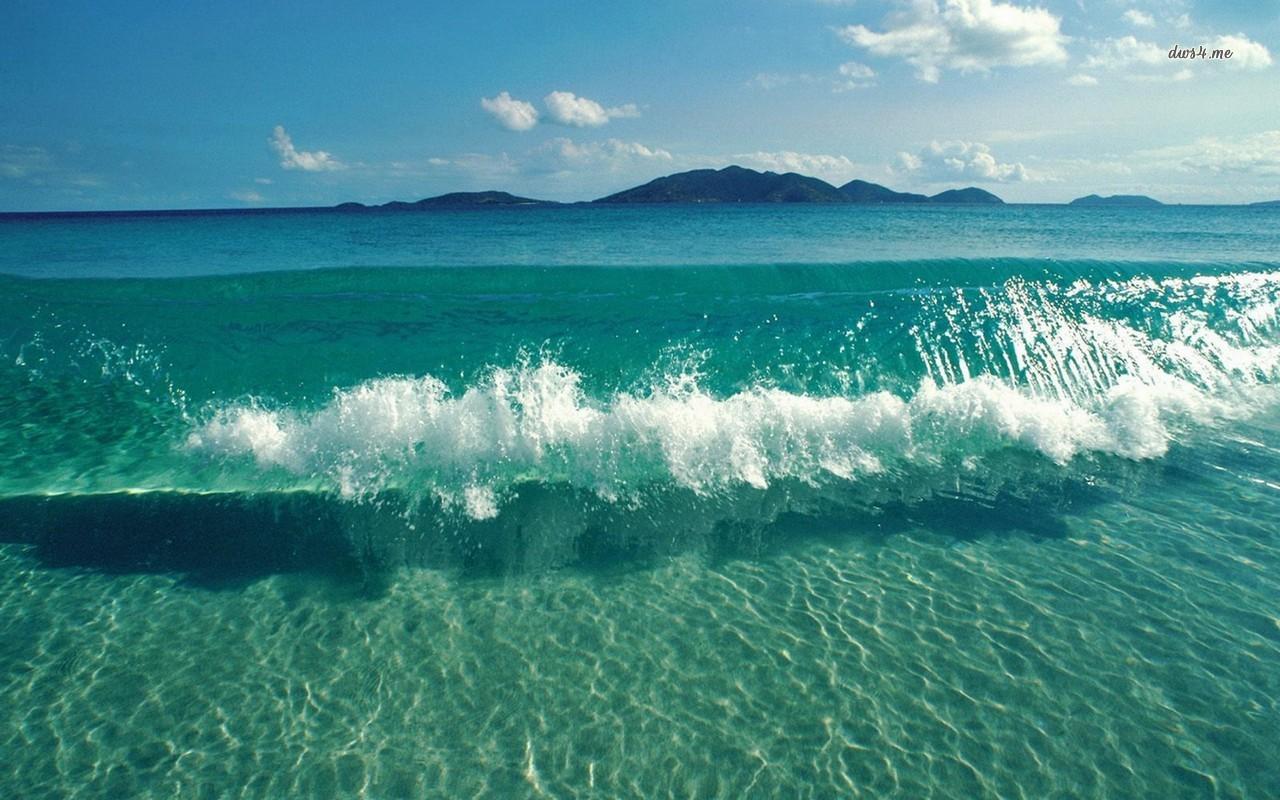 Ocean waves wallpaper   Beach wallpapers   14724 1280x800
