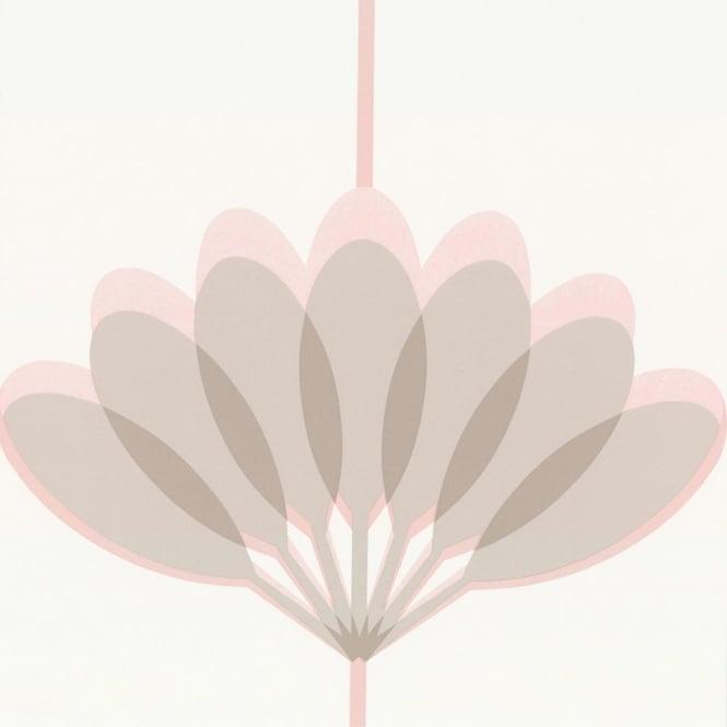 Wallpaper Caselio Caselio Kira Wallpaper Pink Grey Beige 665x665
