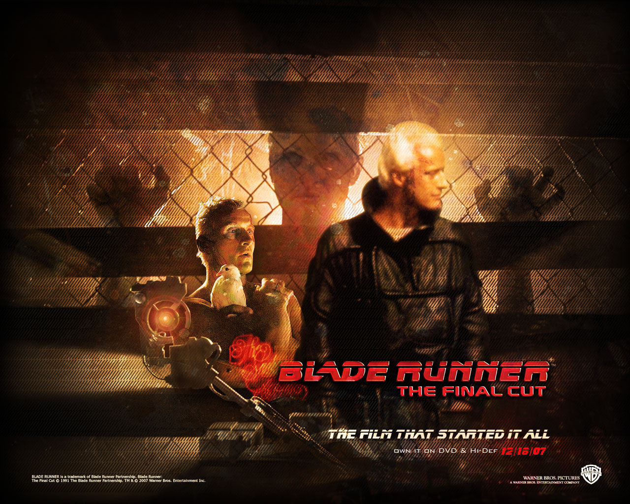 Official Blade Runner Wallpaper   Blade Runner Wallpaper 8207464 1280x1024