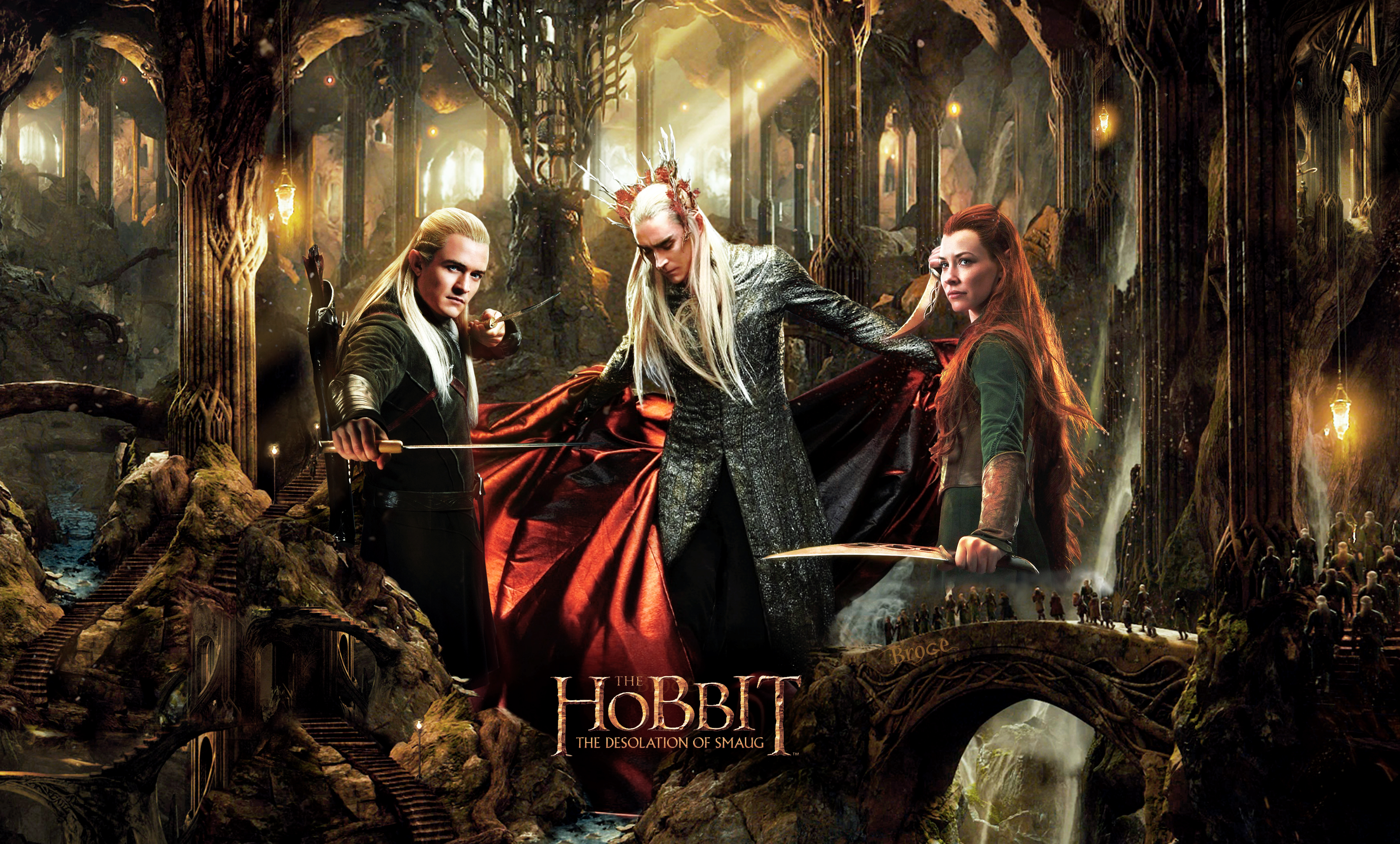 The Hobbit the Desolation of Smaug wallpaper 1 4346x2620