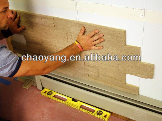 Wallpaper Designer Red Orange Cream and Tan Tuscan Faux Brick Walls 616x462