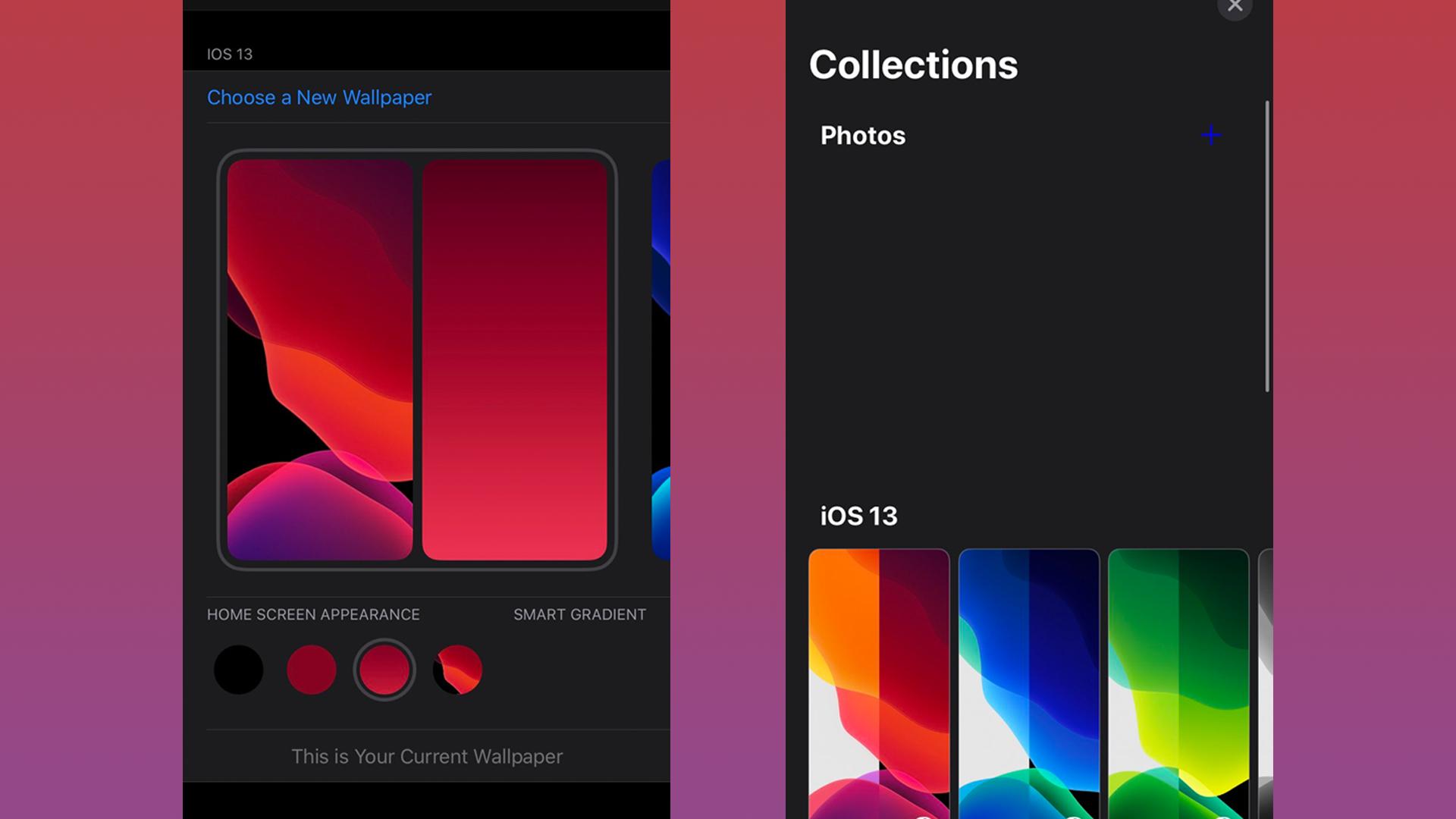 Leaked iOS 14 screenshot shows new wallpaper settings beta code 1920x1080