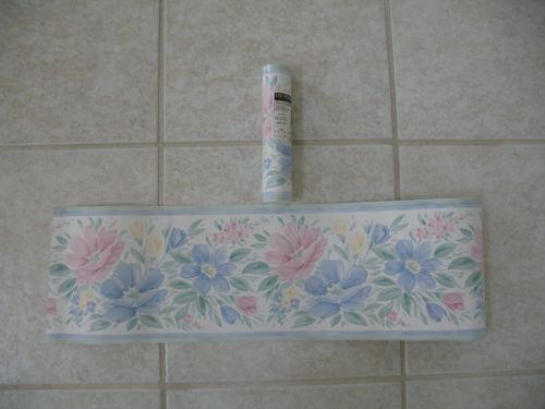 Prepasted Wallpaper Border eBay 500x375