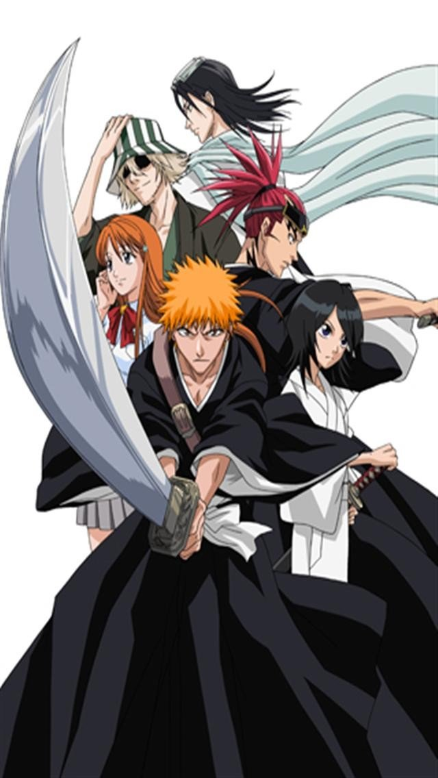 Bleach Clan HD iPhone Wallpapers iPhone 5s4s3G Wallpapers 640x1136