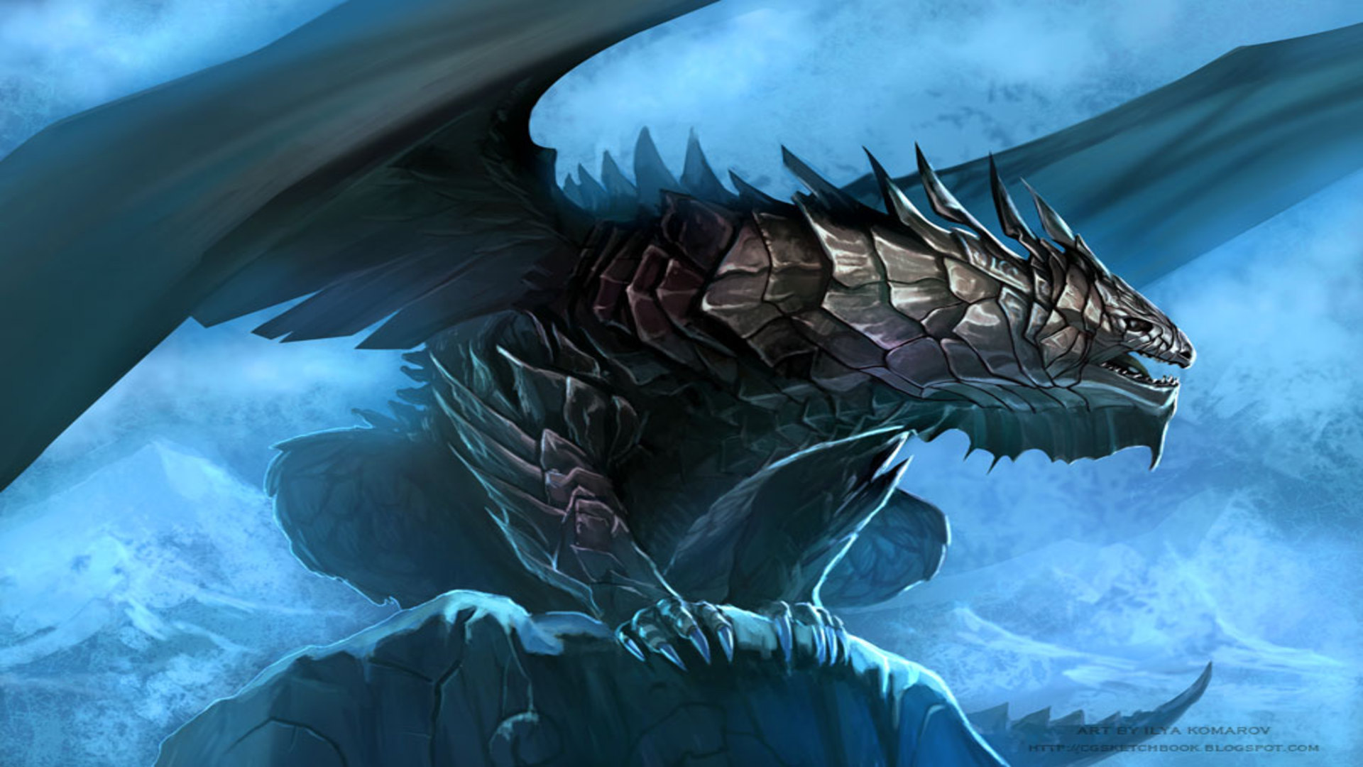 4k cool dragon wallpapers wallpapersafari - Dragon backgrounds 1920x1080 ...