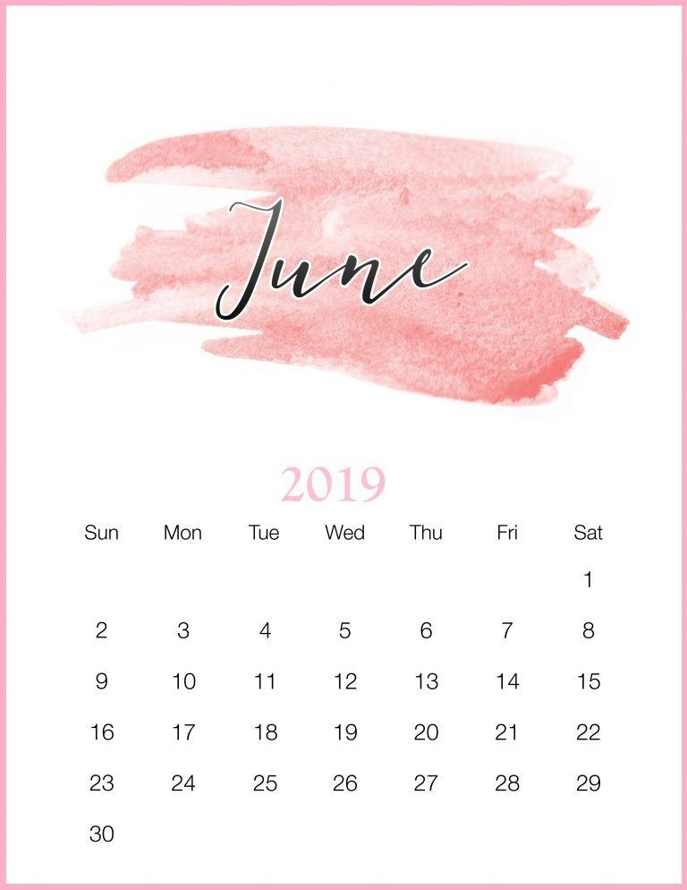 Cute July 2019 Calendar Wallpaper wed easecom 768x994