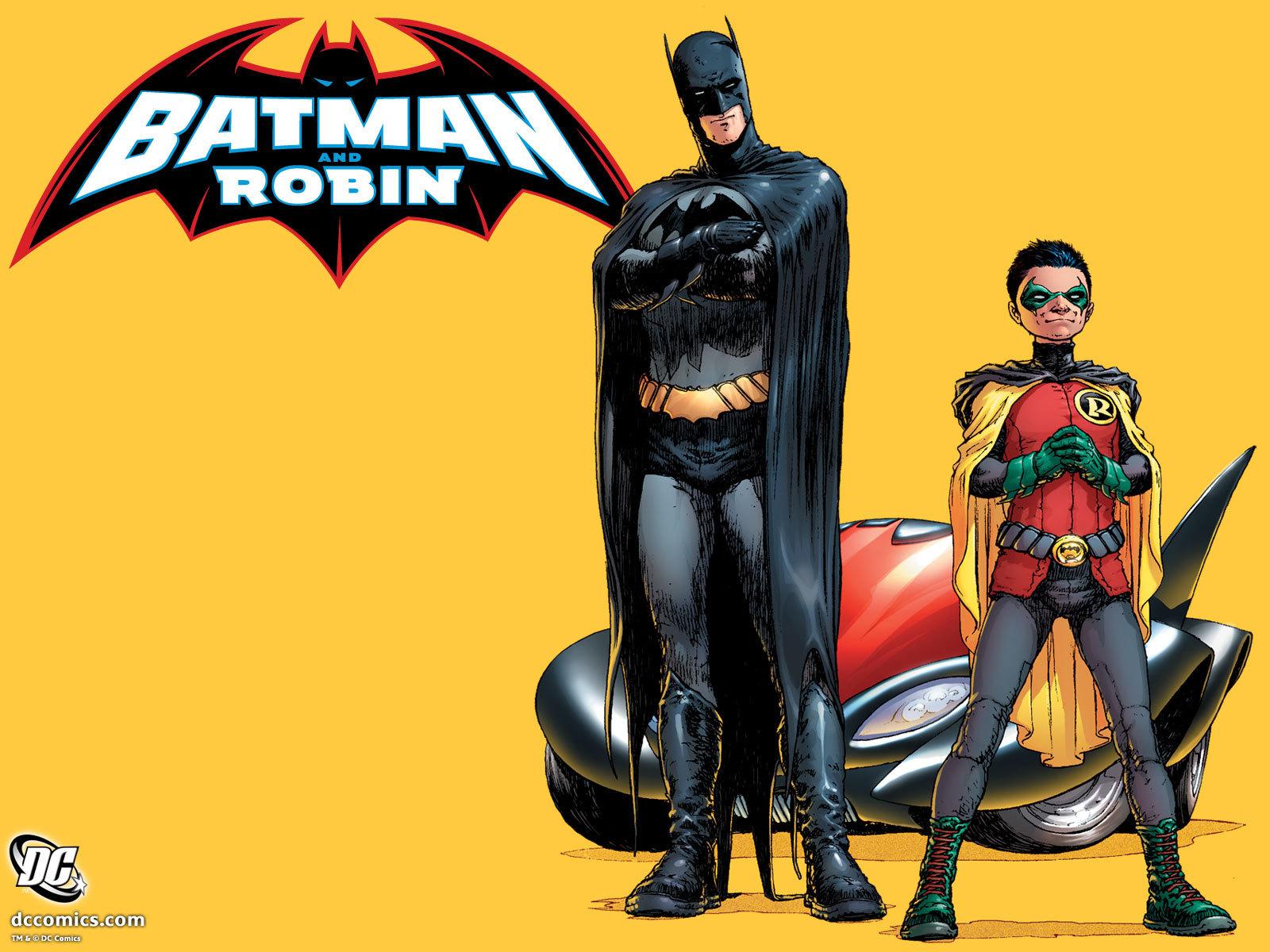 The new Batman and Robin   Batman Wallpaper 6522528 1600x1200