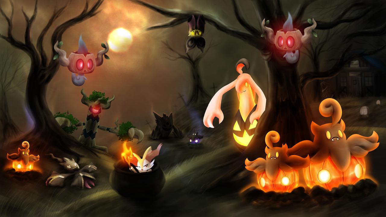 All Ghost Type Pokemon Viable ghost type pokmon 1280x720
