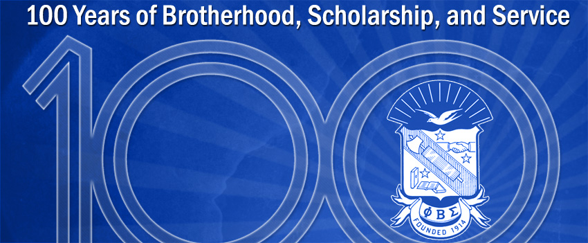 Phi Beta Sigma 100 Years 100 years of sigma 850x351