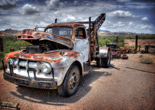 old truck hdr wallpaper 505x360