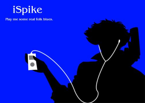 iPod 05   Spike Spiegel by BlueMoonCrescent 504x360