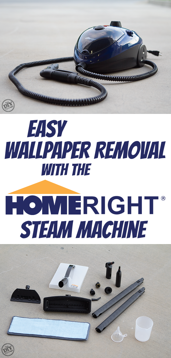 Easy Wallpaper Removal With the HomeRight SteamMachine   The DIY 600x1257