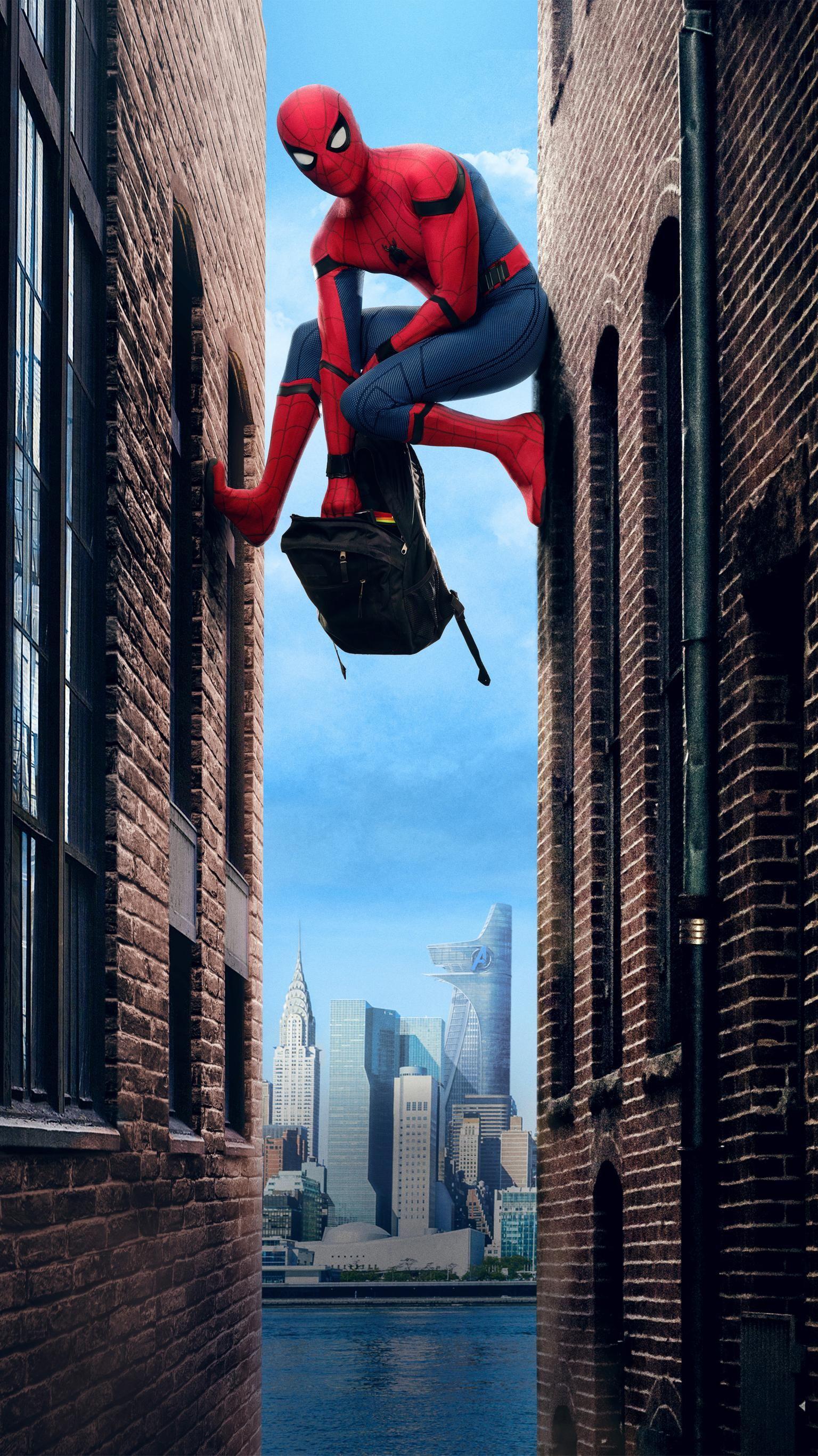 Spider Man Homecoming 2017 Phone Wallpaper Phone Wallpapers 1536x2732