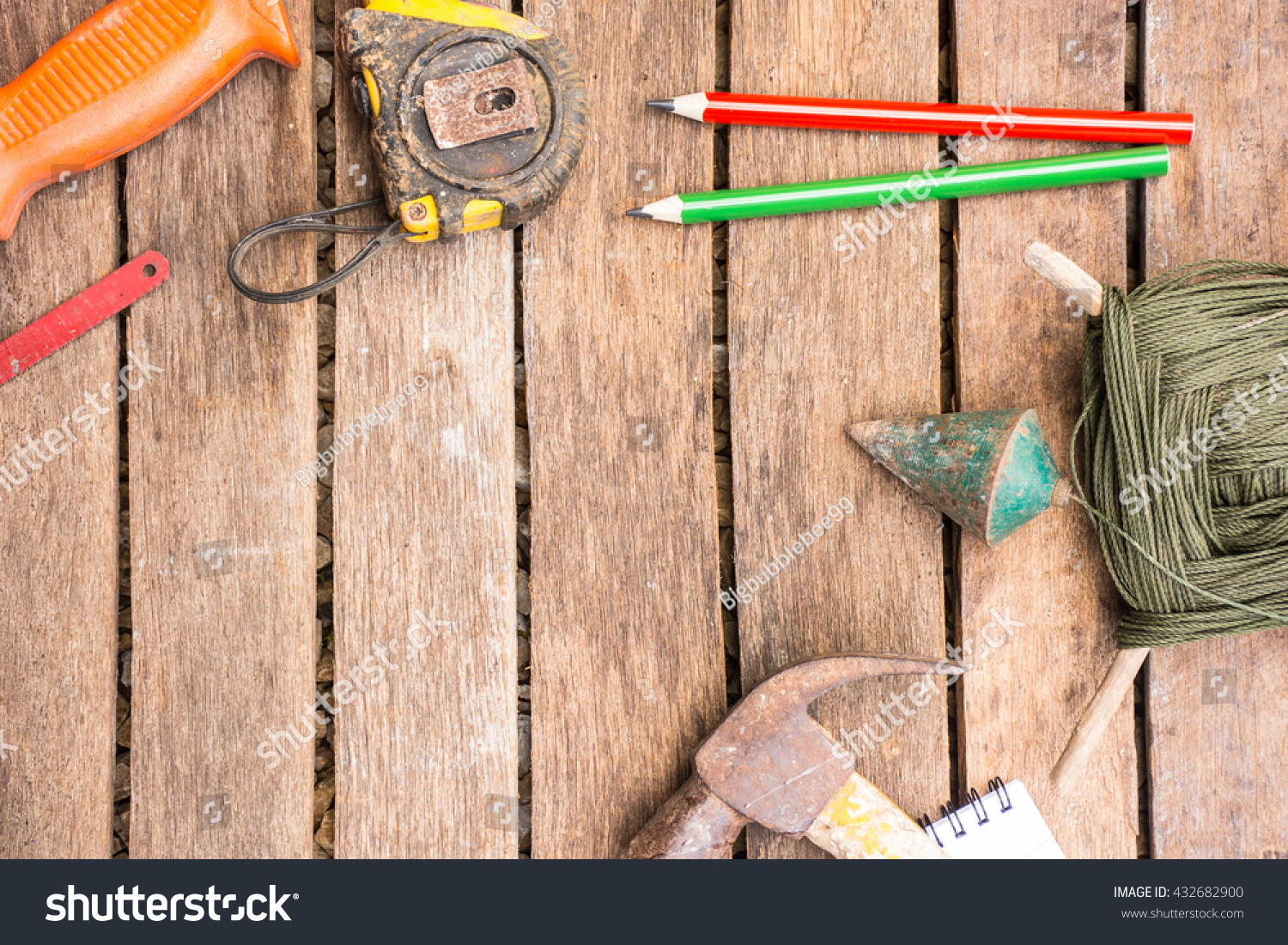 Background Craftsman Tool Have Saw Hammer Stock Photo Edit Now 1500x1101