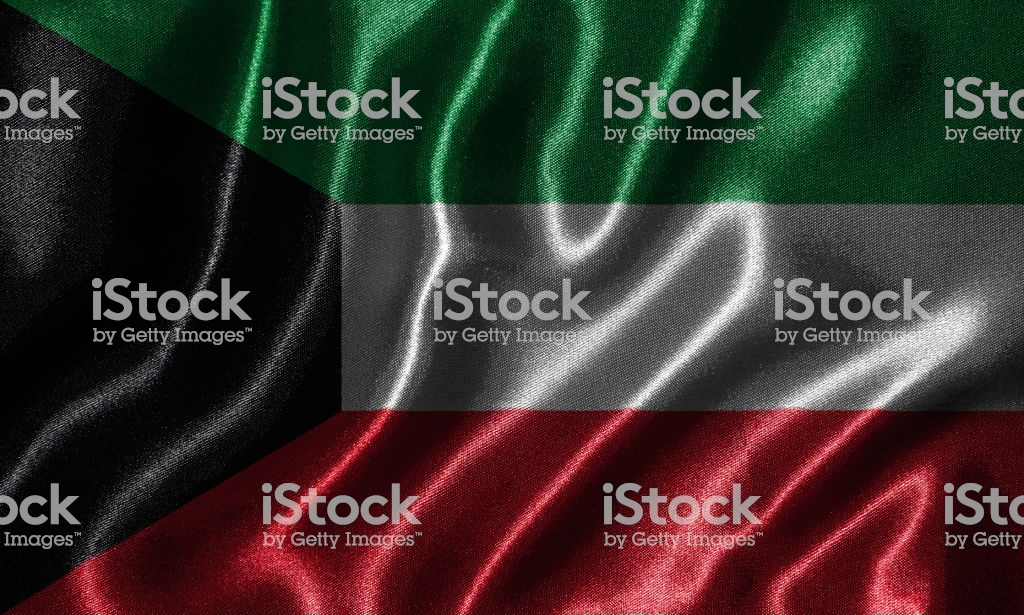 Wallpaper By Kuwait Flag And Waving Flag By Fabric Stock Photo 1024x615