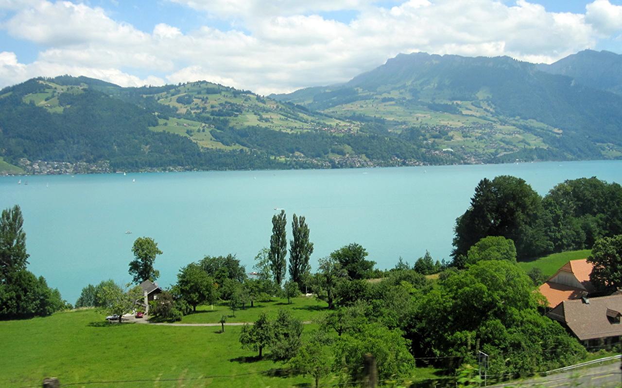 Images Switzerland Interlaken Nature Lake 1280x800