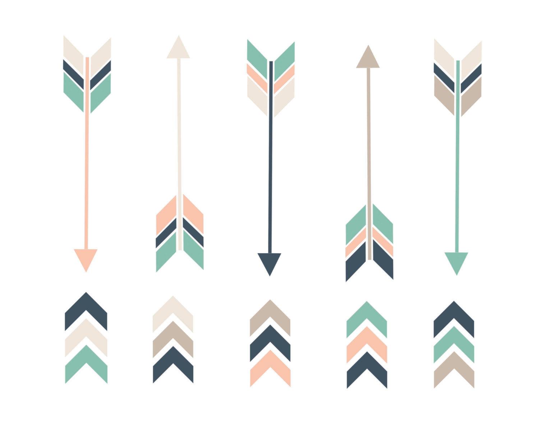 60 OFF SALE Arrow Clipart Clip Art Arrows by thepaperpegasus 1500x1200
