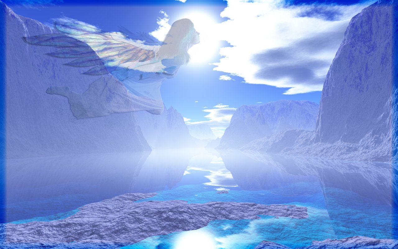 Blue Heaven Wallpaper by 1footonthedawn on deviantART 1280x800