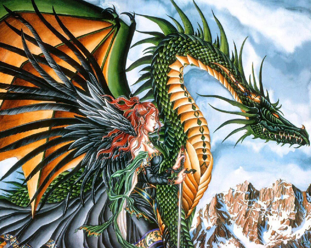 Dragon Wallpapers and Screensavers 1280x1024