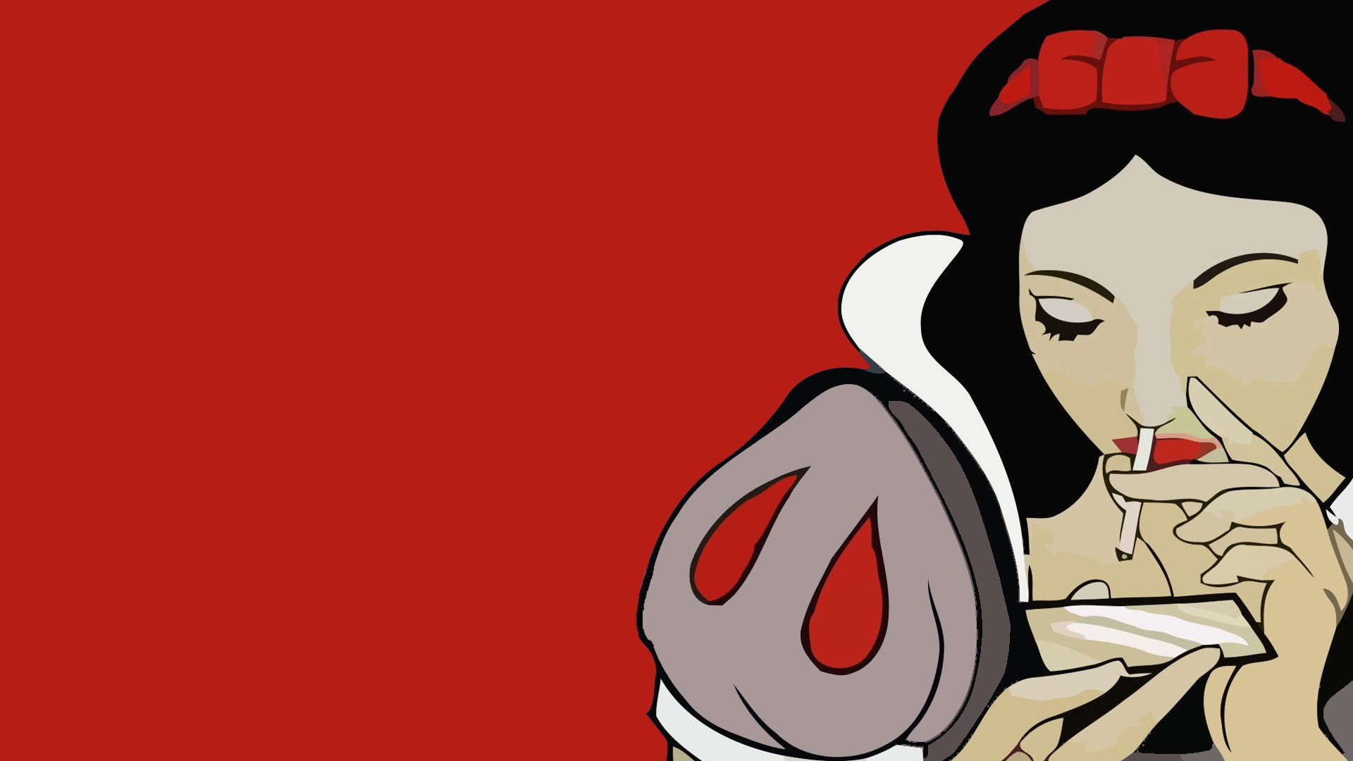 Snow White cocaine Wallpaper hd background   HD Wallpapers 1920x1080