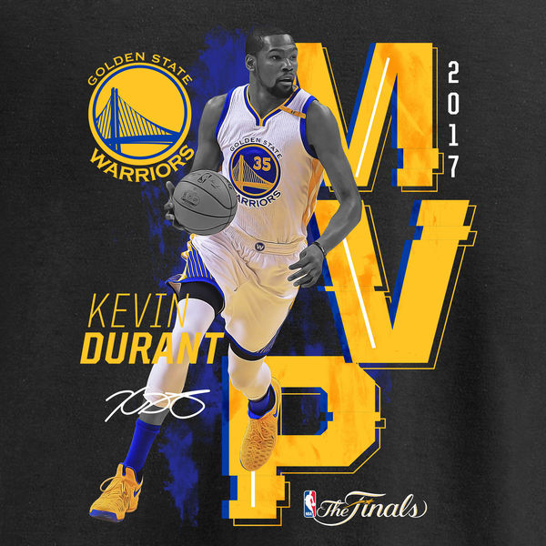 Mens Golden State Warriors Kevin Durant Fanatics Branded 600x600