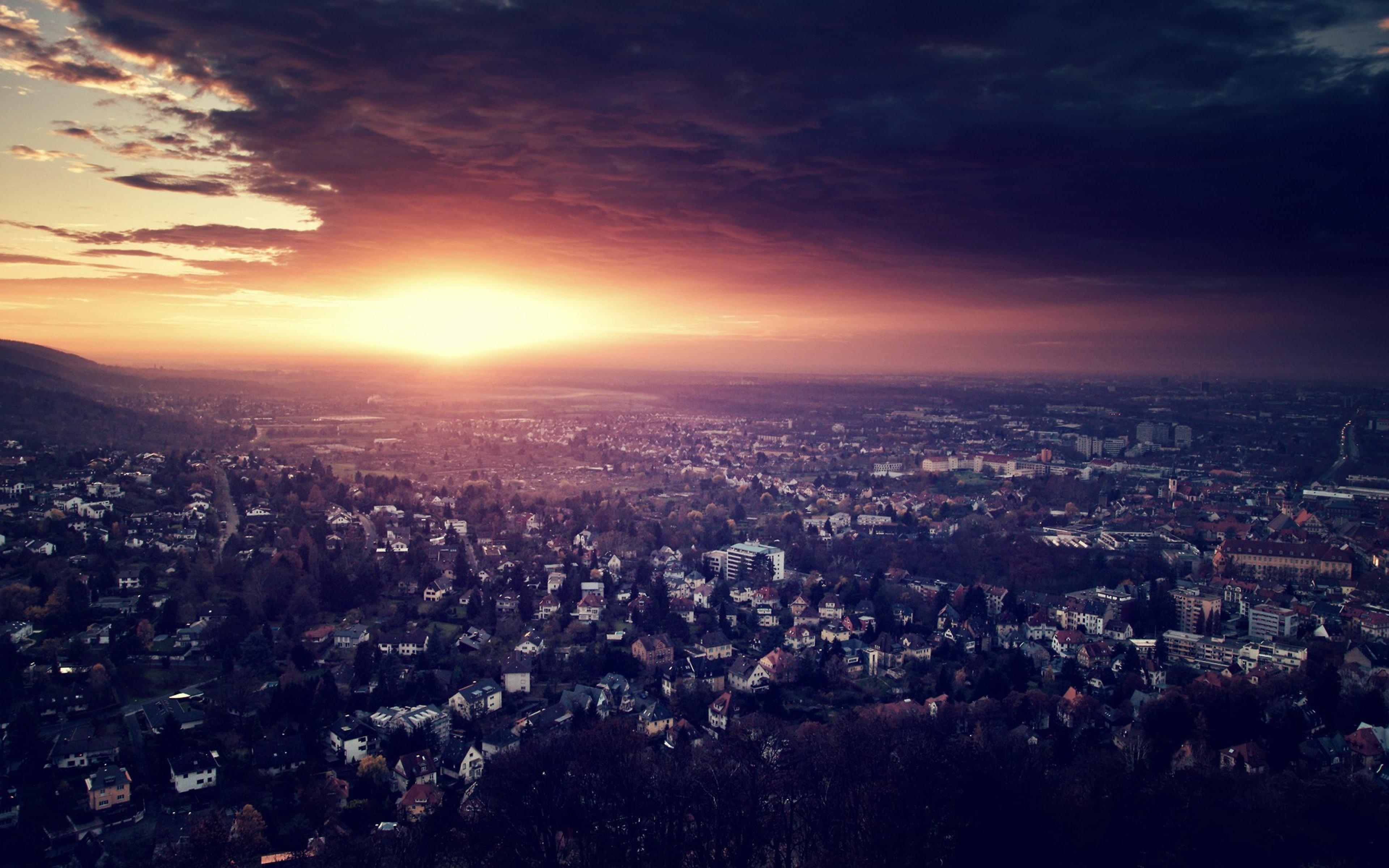 city night sky hd - photo #6