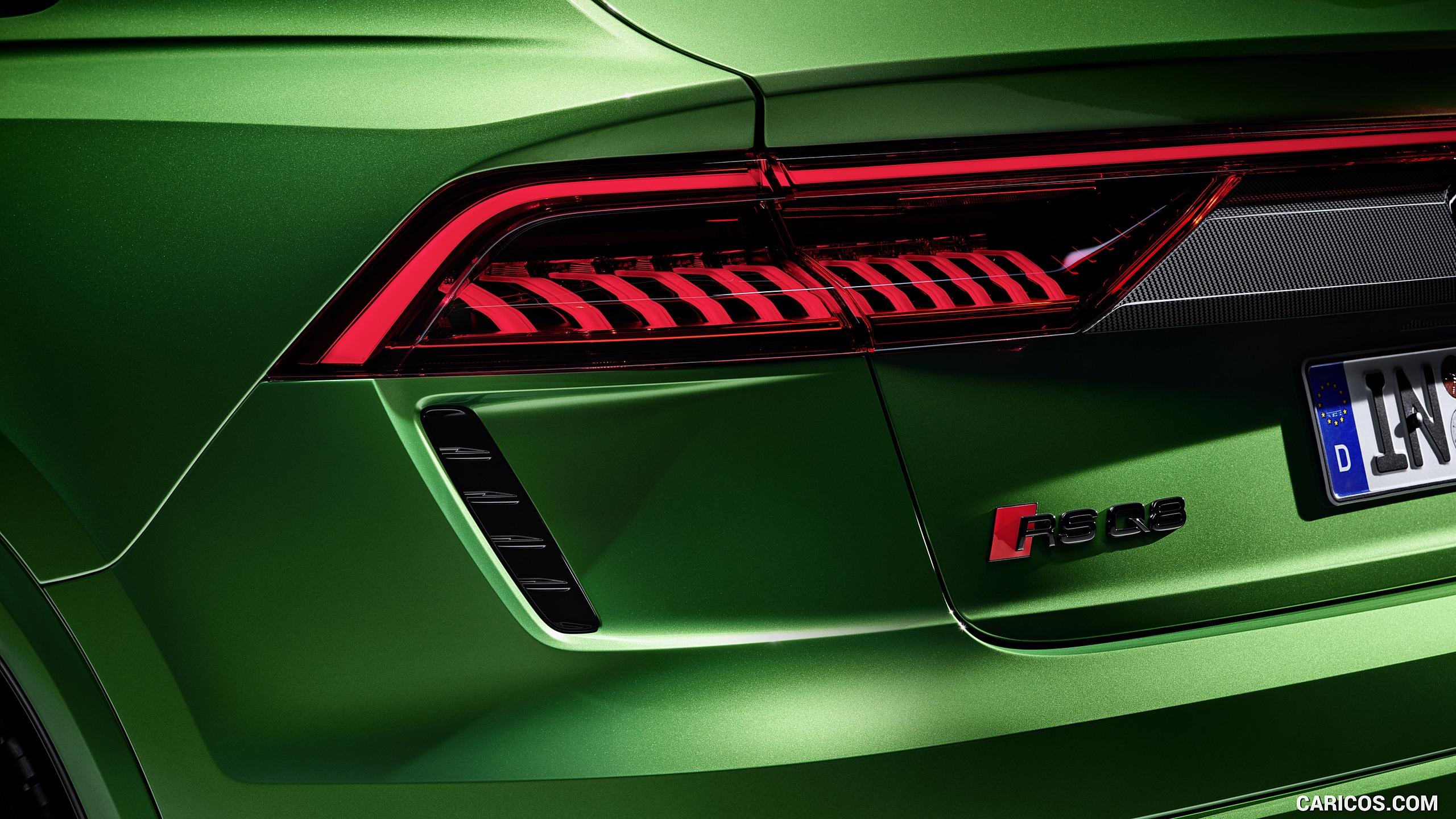 2020 Audi RS Q8   Tail Light HD Wallpaper 10 2560x1440
