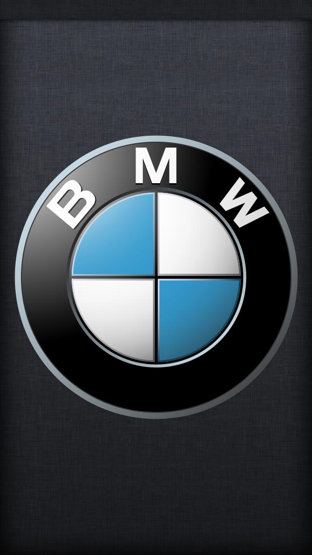 BMW logo iPhone 5 Wallpaper 640x1136 640x1136