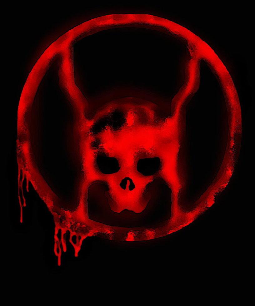 My custom Red Lantern logo by driller88 816x980