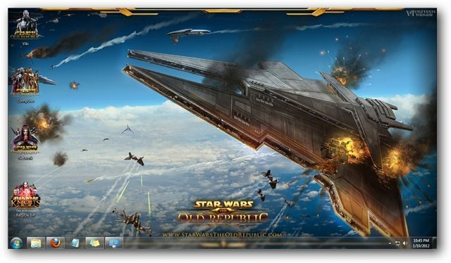 Themes Star Wars The Old Republic Theme for Windows [Game Themes 640x374