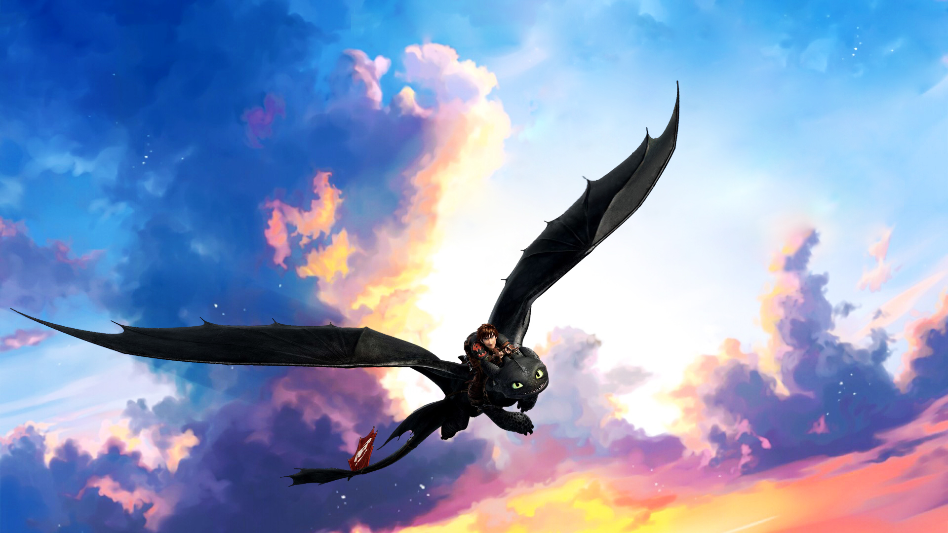Toothless Wallpapers 1920x1080