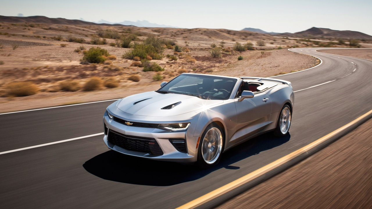 2016 Chevrolet Camaro Convertible Wallpaper HD Car Wallpapers 1280x720
